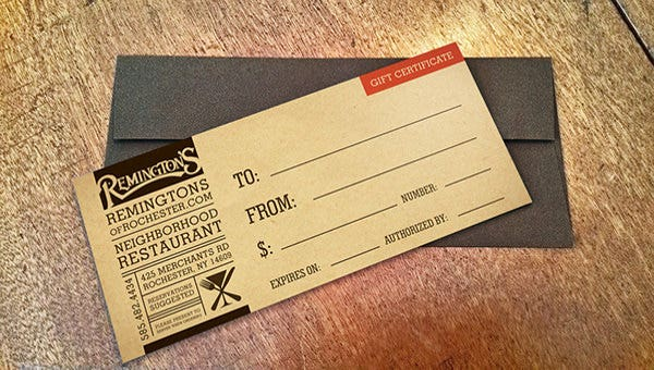 restaurantgiftcertificatetemplate