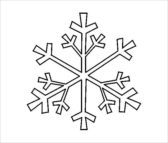 diy paper snowflake template free