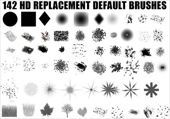 hd art photoshop brushes