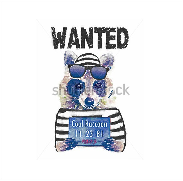funny animal wanted poster download