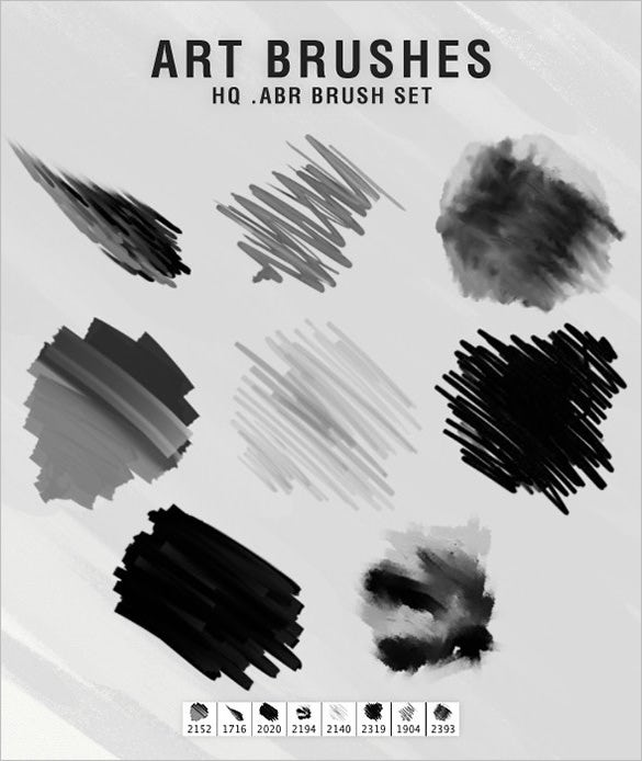 photoshop art brushes