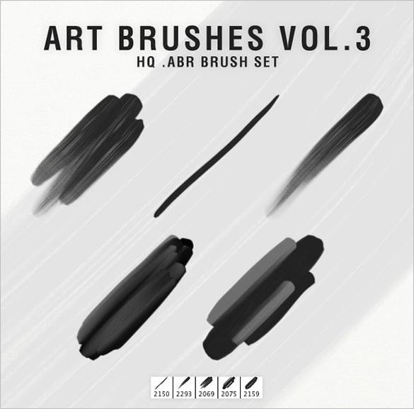 photoshop art brushes set
