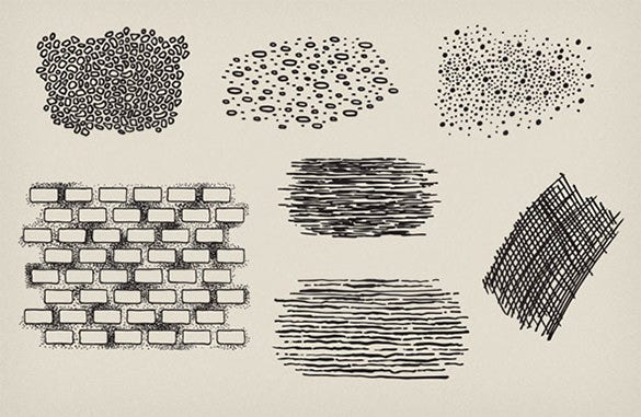 10 stipple photoshop brushes