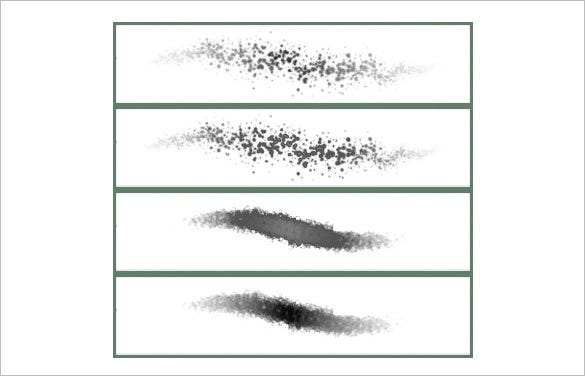 2 stipple photoshop brushes