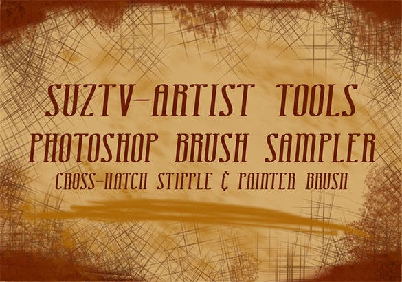 stipple photoshop brushes