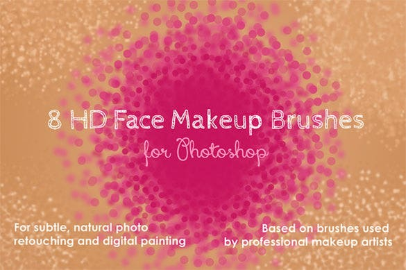 8 hd stipple photoshop brushes