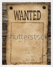 Wanted-Dead-or-Live-Blank-Poster