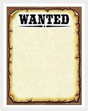Western-Wanted-Poster-Computer-Paper