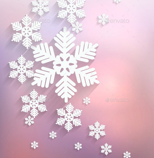 Christmas Snowflake Templates   Free Printable Sample Example