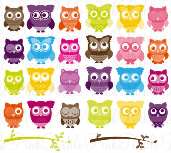 26 owl animal photoshop brushes