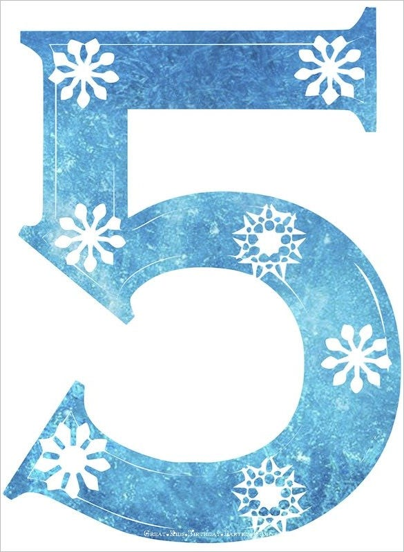 frozen snowflake number 5 pdf download