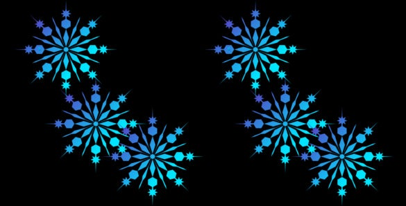 frozen snowflakes light blue download