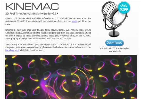 Kinemac---3D-Real-Time-Animation-Software-for-OS-X