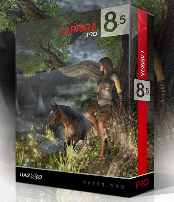 Carrara-85-Pro---3D-Modeling-&-Animation-Software