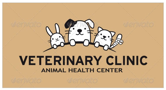 pet animals funny logo
