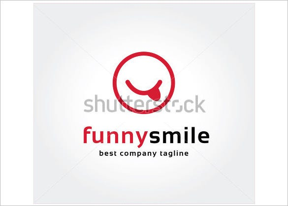 funny smile logo