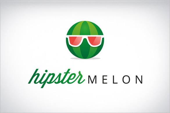 funny melon logo
