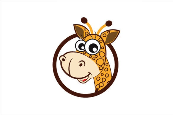 funny girafee logo