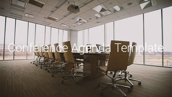 conferenceagendatemplates
