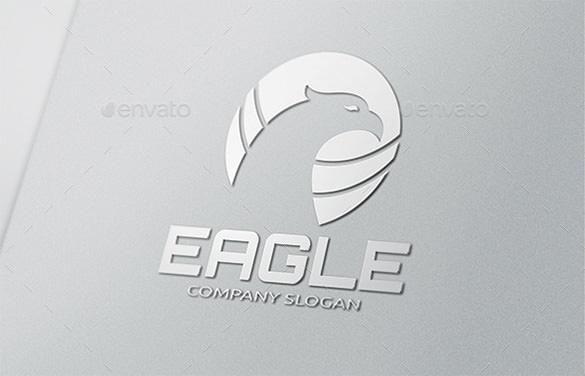 premium eagle logo