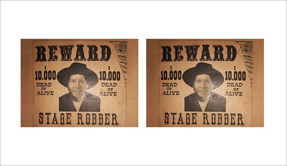 funny editable wanted poster sample download