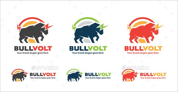 electric bull logo