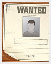 Blank-Wanted-Poster-on-Wooden-Wall-Sample