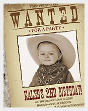 Old-Wanted-Party-Poster-Sample-Template