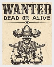Amazing Western Wanted Posters  Printable Wanted Posters