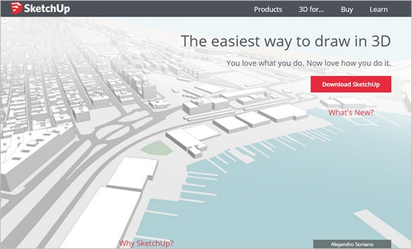 sketchup easy 3d printing software