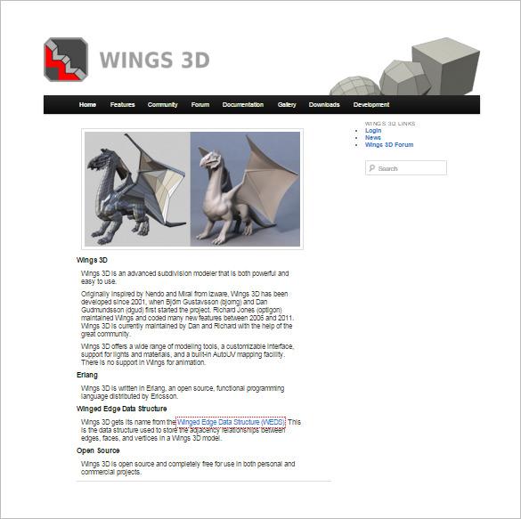 Wings3D---3D-Modeler-&-Printing-Software