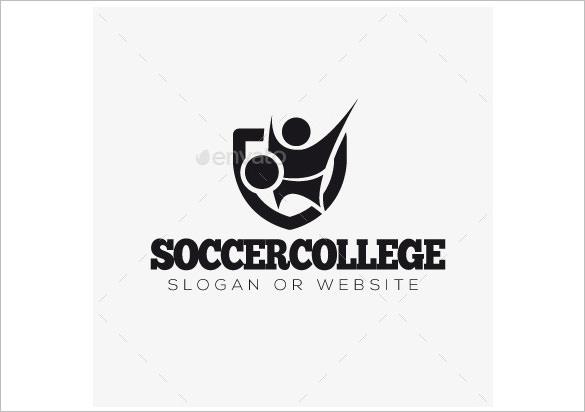 soccer college logo