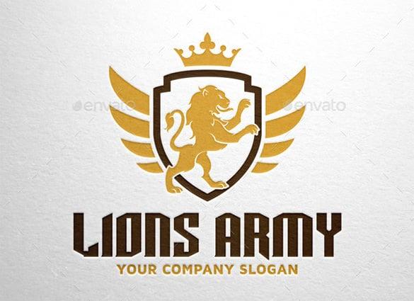lions army logo