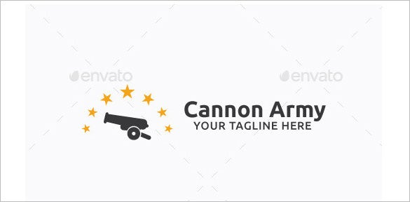 cannon army logo