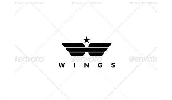 wings army logo