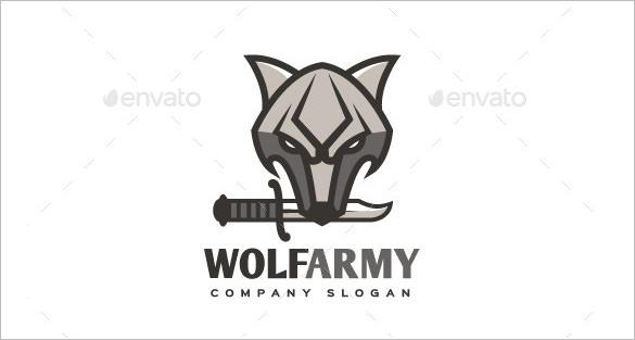 wolf army logo