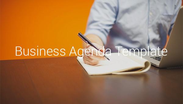 businessagendatemplates
