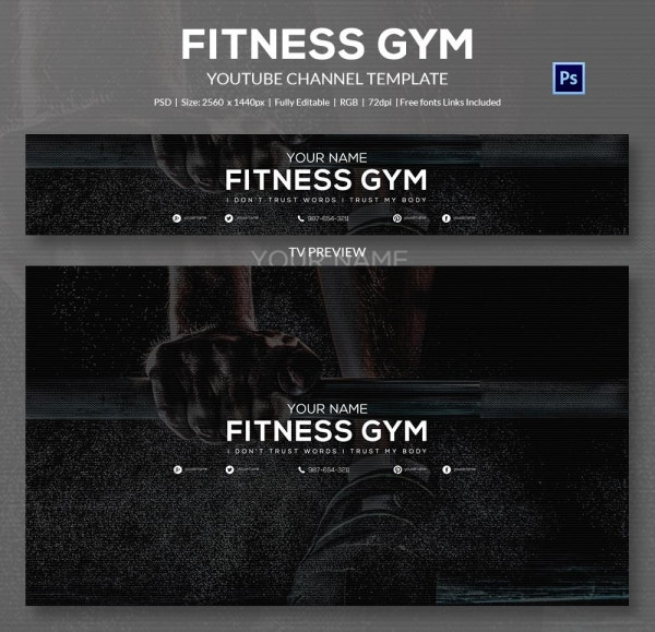 channel art template gym3
