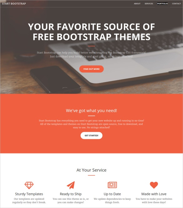 Creative Business Portfolio Bootstrap Theme