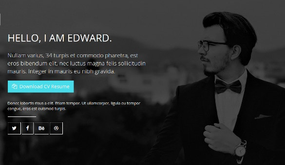 Business Portfolio Bootstrap Template