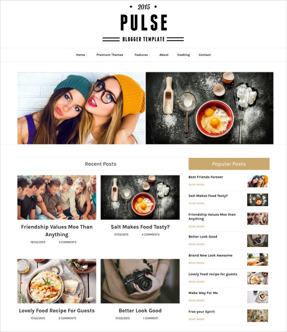 Multipurpose Blogger Template