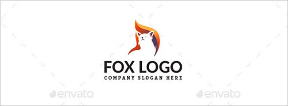 pretty fox logo
