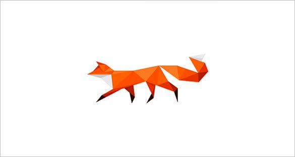 walking fox logo
