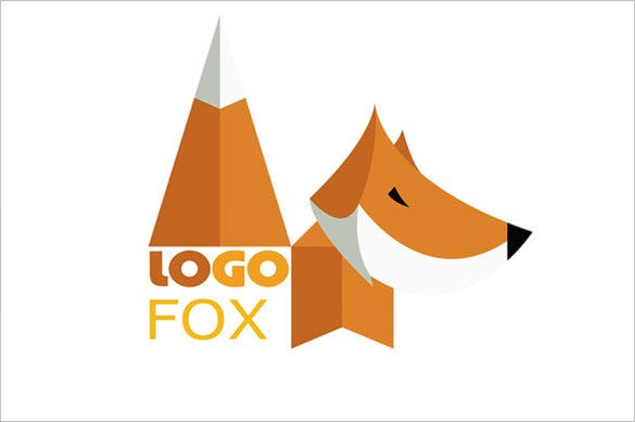 beautiful fox logo