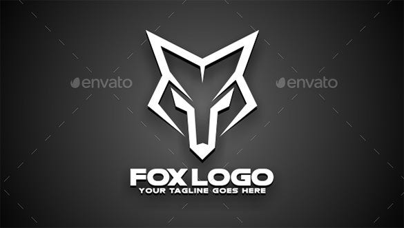 24+ fox logos – free psd, vector eps, ai, format download! | free