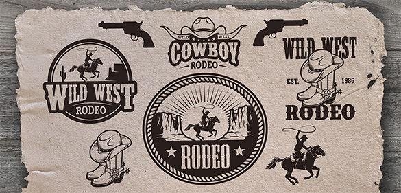 cowboy set logo