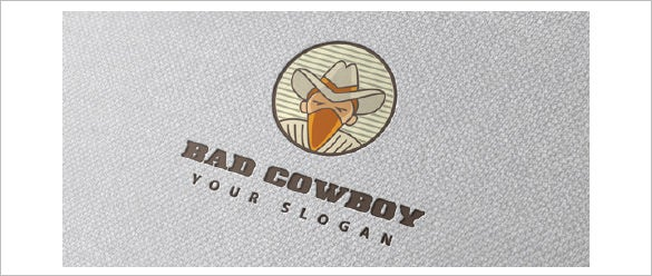 bad cowboy logo