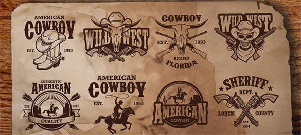 authentic cowboy logo