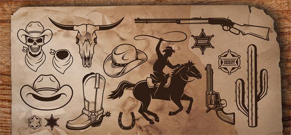 cowboy design logo1