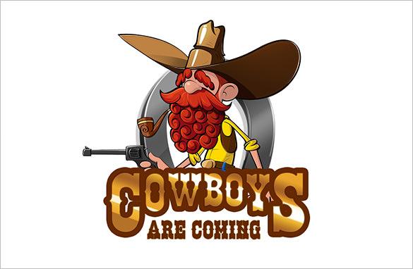 cowboy game logo